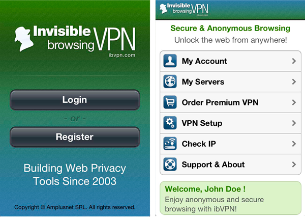 IBVPN com IPhone Review | iPhone VPN